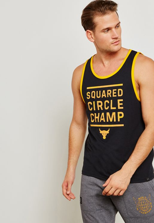 Project Rock Squared Circle Champ Vest