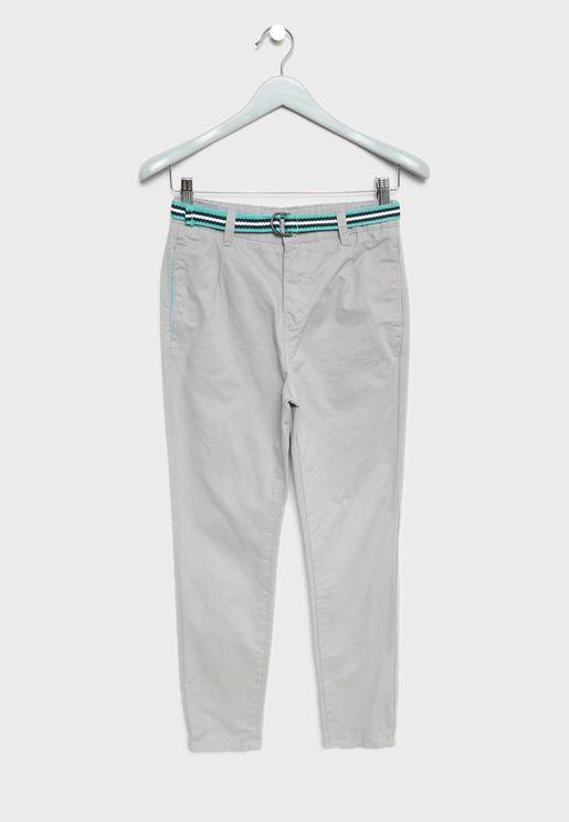 Teen Belt Trousers
