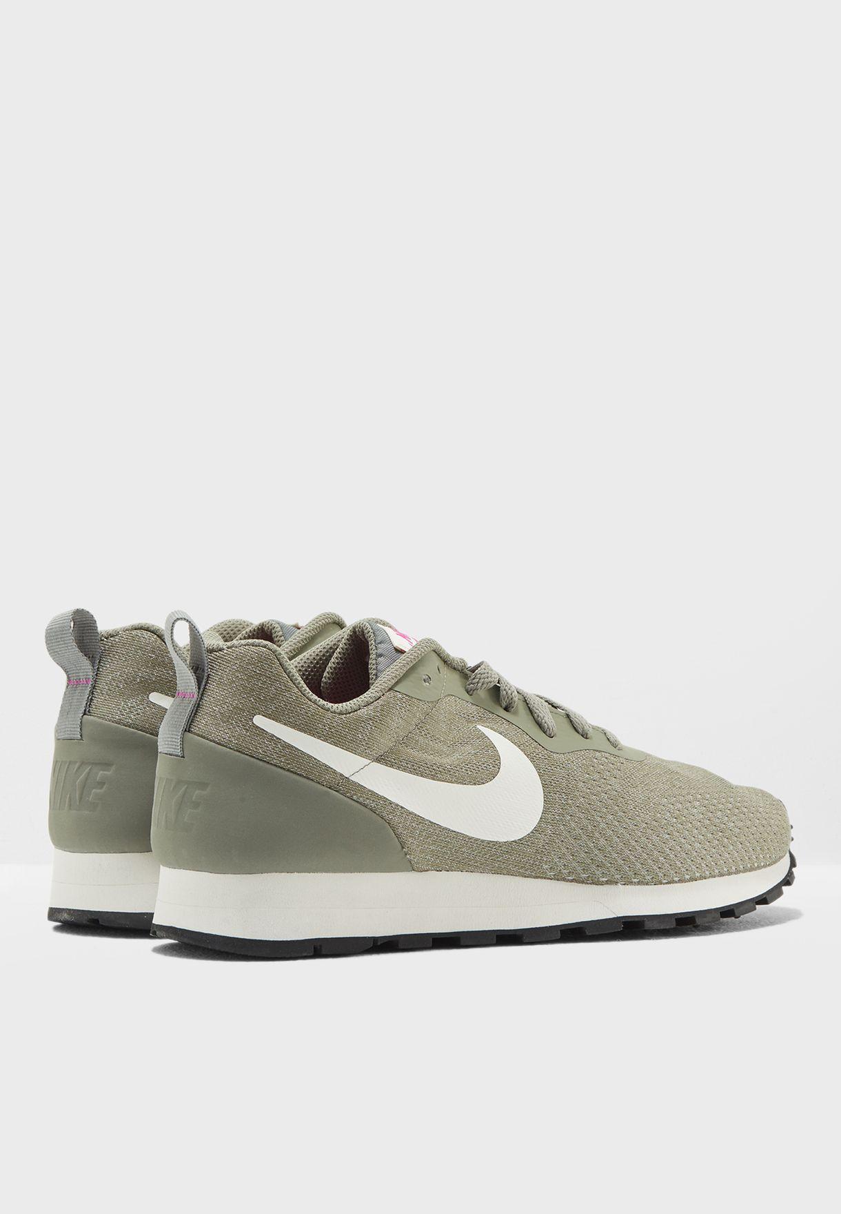 7a91fa7e2 Shop Nike green MD Runner 2 ENG Mesh 916797-002 for Women in ...