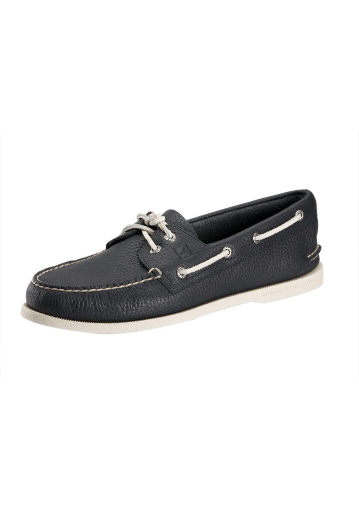 ce858ef16 تسوق Leather Slipons ماركة سبيري توب سايدر لون أزرق في السعودية ...