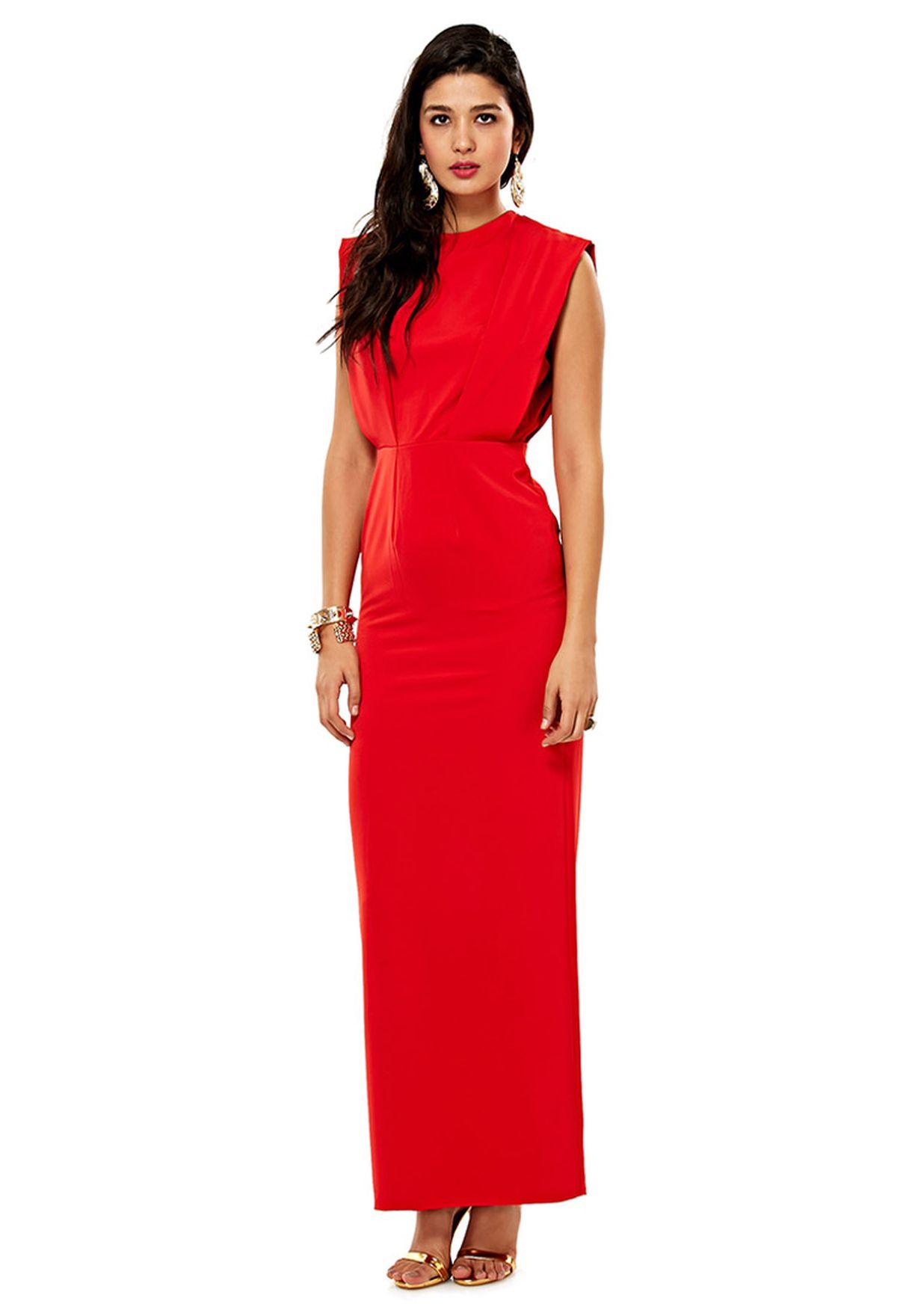 Shop Aqua By Aqua red Butterfly Maxi Dress for Women in Kuwait -  AQ535AT78ISR 6b7b71f5cf