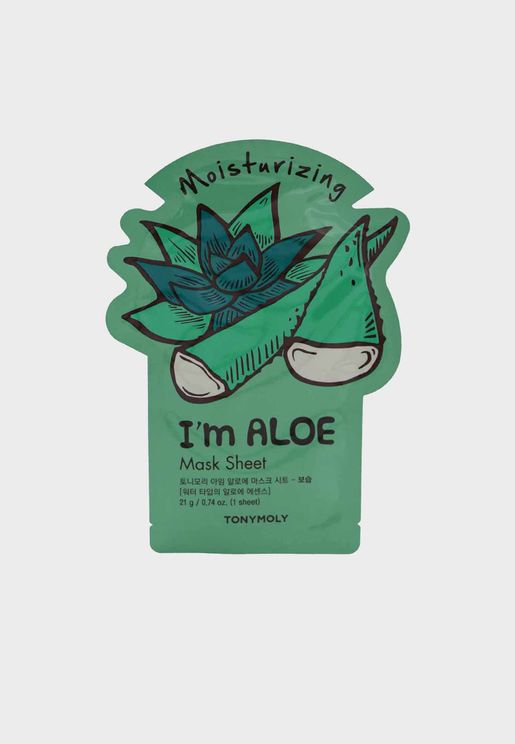 I Am Real Aloe Mask