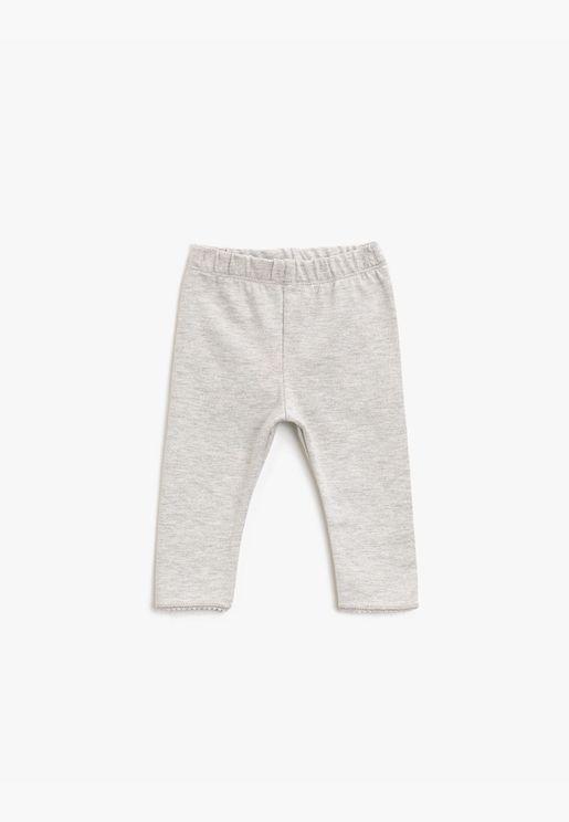Medium Rise Basic Leggings