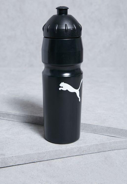 زجاجة بشعار الماركة