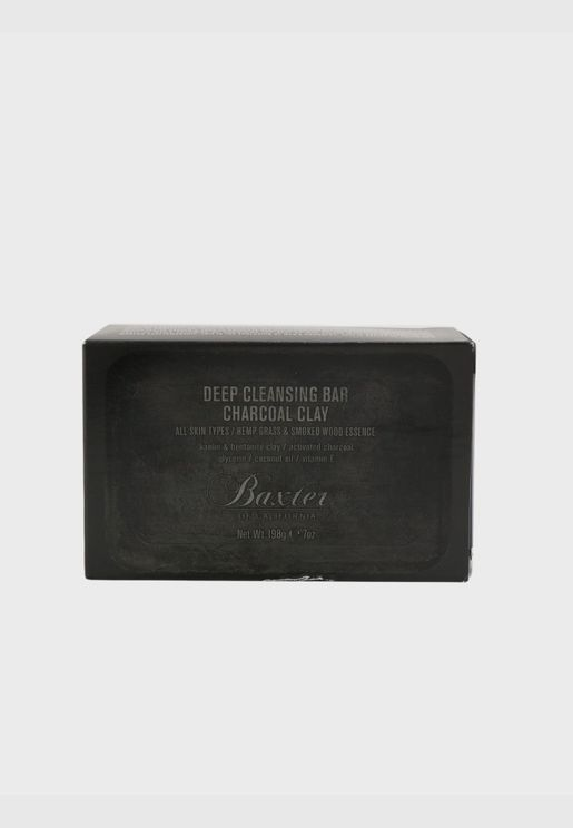 Deep Cleansing Bar (Charcoal Clay)
