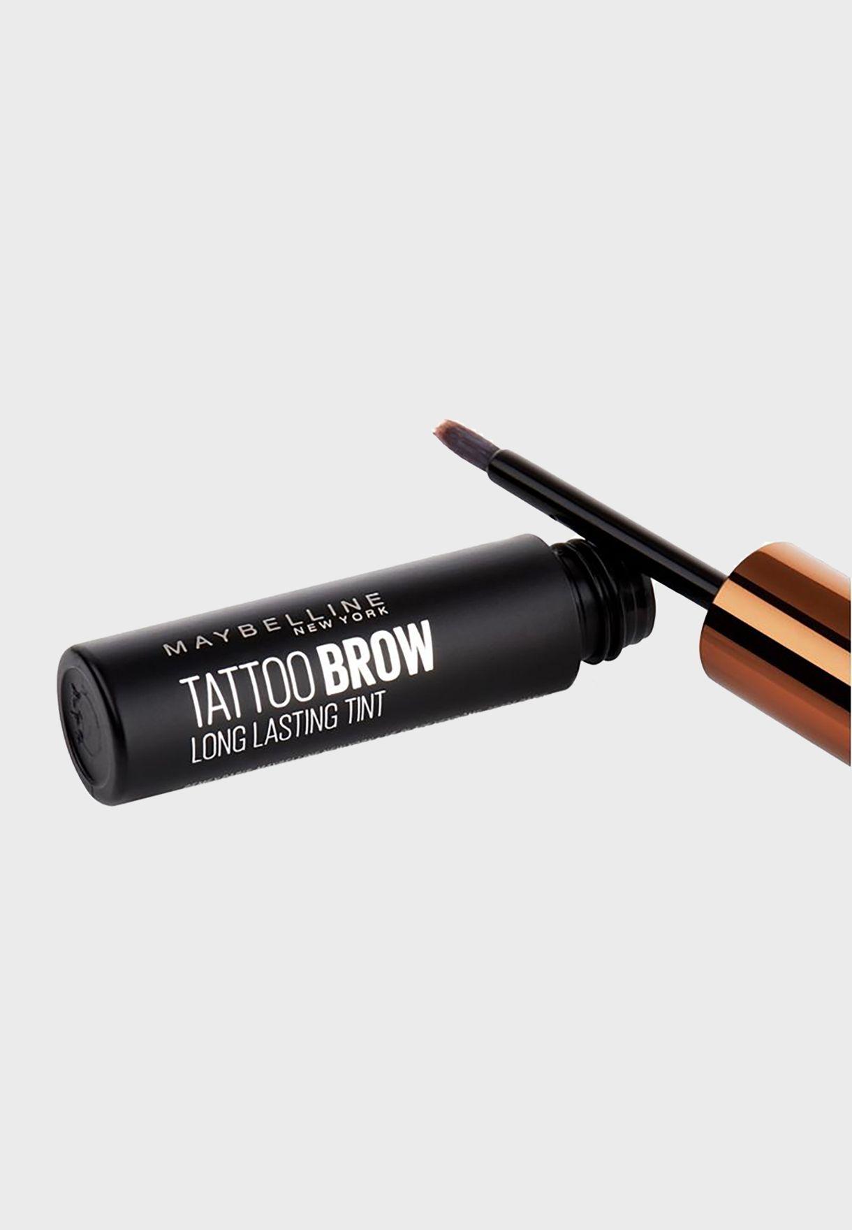 Brow Tattoo Peel Off Tint Dark Brown