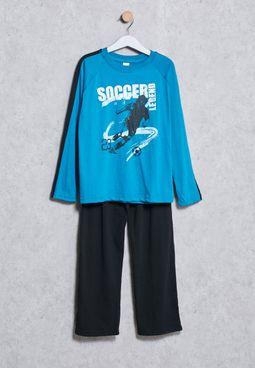 Kids T-Shirt + Sweatpanst Set