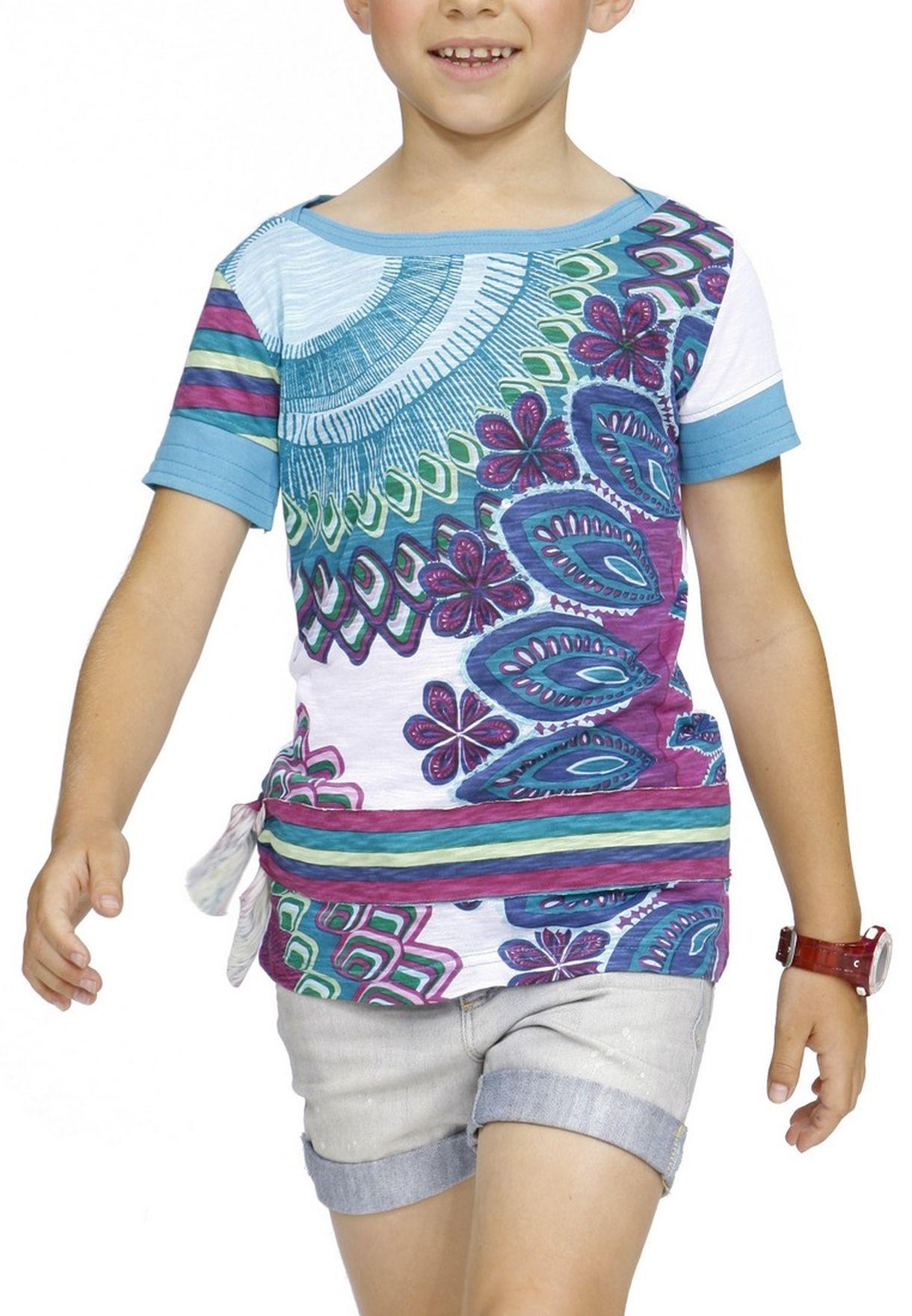 Andrea Multicolor Kids Shop Uae In T For Shirt Desigual p61nwxqtA