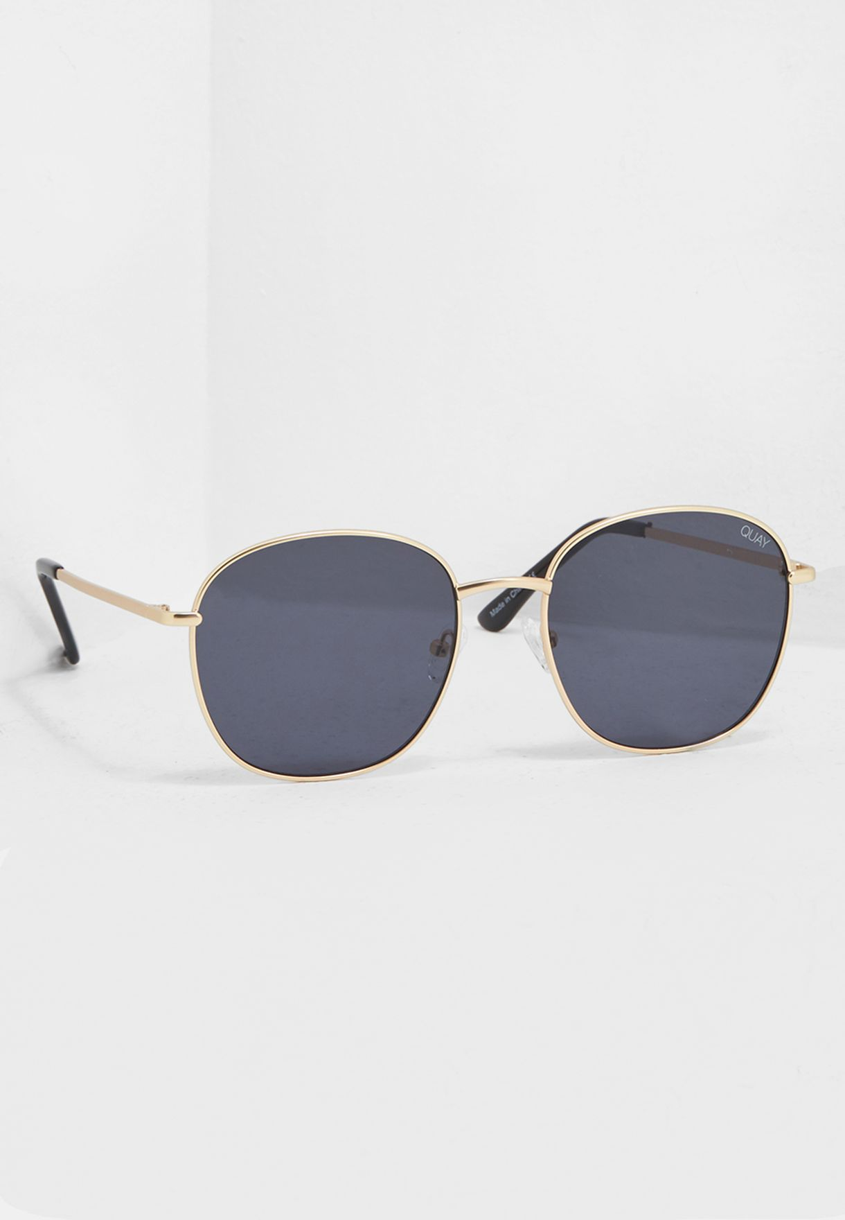 46280b60325 Shop Quay Australia gold Jezabell Sunglasses QW-000262-GOLD SMOKE ...