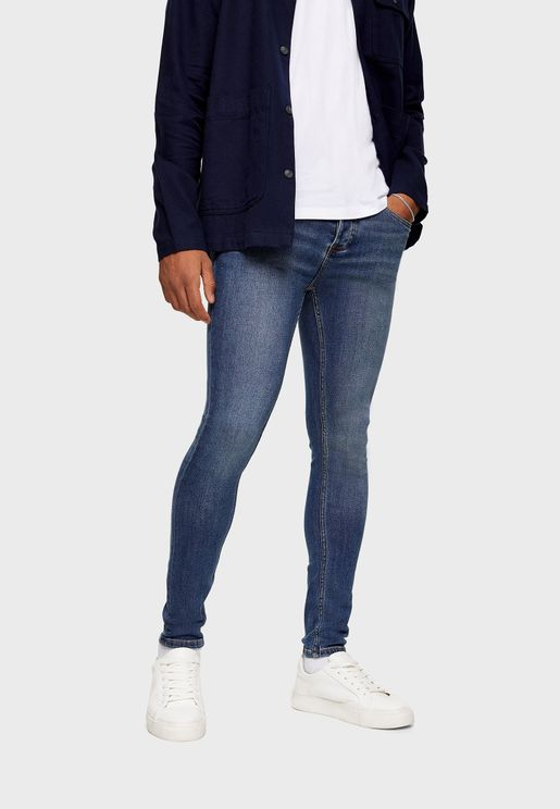 Spray On Skinny Fit  Jeans