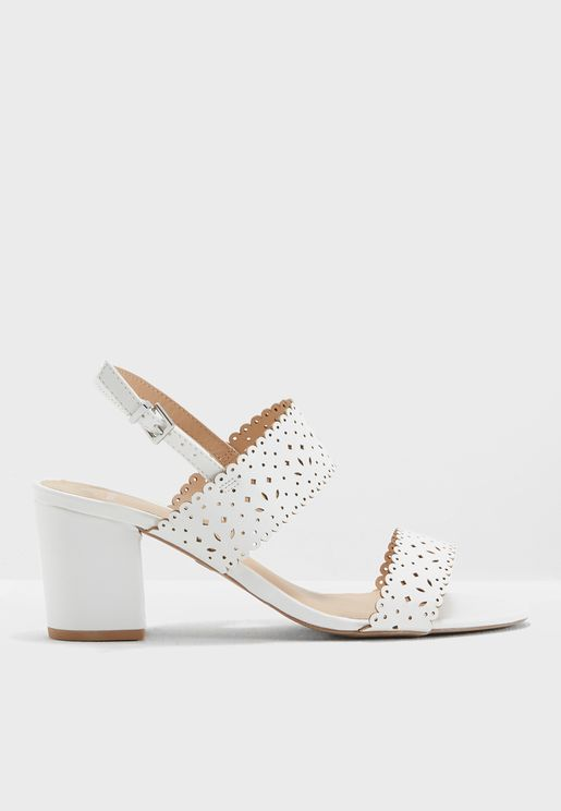 Wide Fit Sugar Heeled Sandals