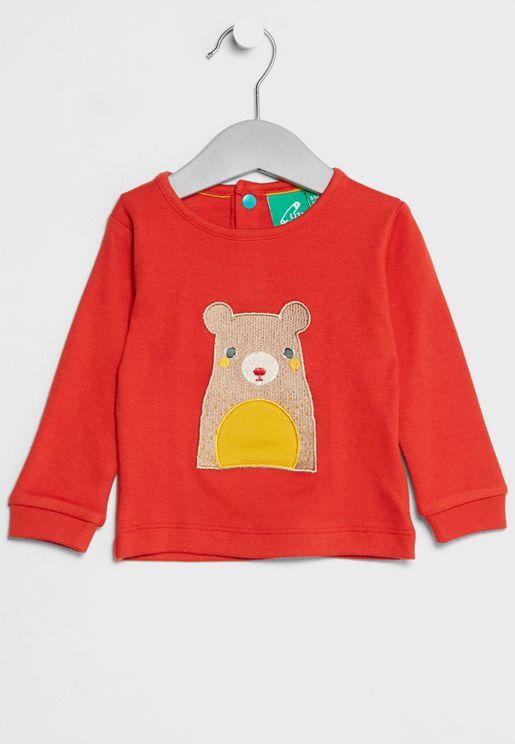 Infant Organic Bear T-Shirt