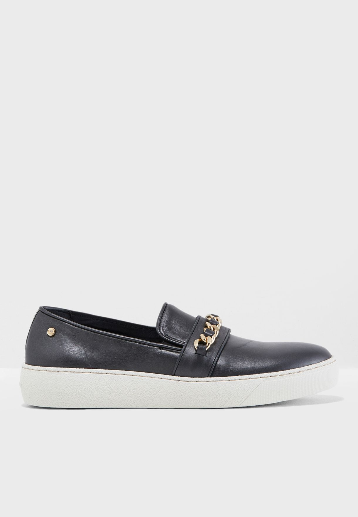 7f396b8bd Shop Tommy Hilfiger black Hybrid Iconic Slip On FW0FW03395 for Women ...
