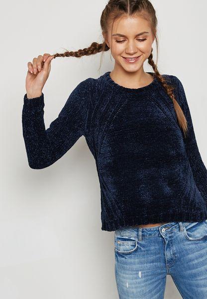 Shimmer High Neck Sweater