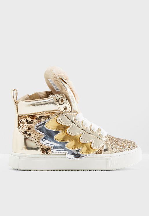 Youth Twit Twoo Sneaker