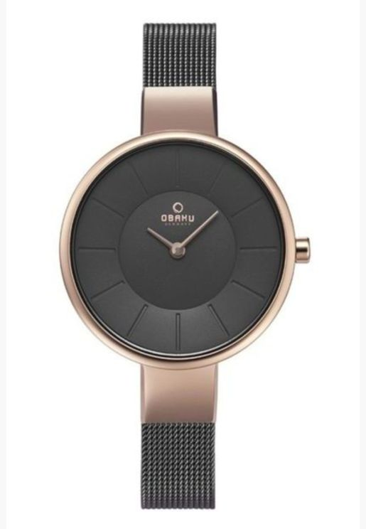 Obaku Sol Mesh Strap Watch for Women - V149LXVJMJ