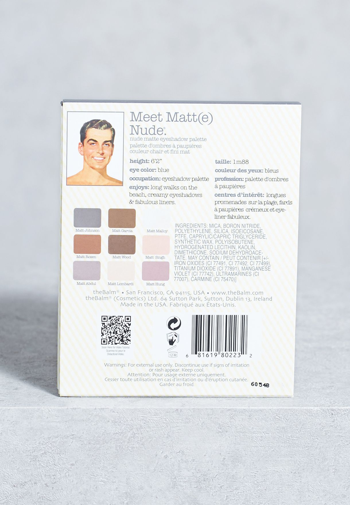 Meet Matt(E) Nude Eyeshadow Paletts