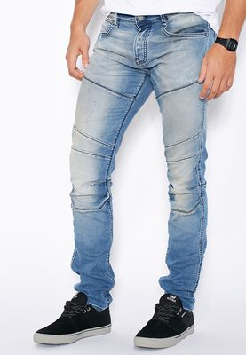 Jack & Jones Glenn Slim Fit Light Wash Jeans