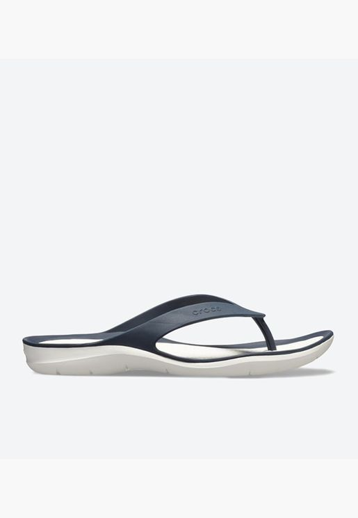 Swiftwater Round Toe Flip Flops - Navy 204974-462