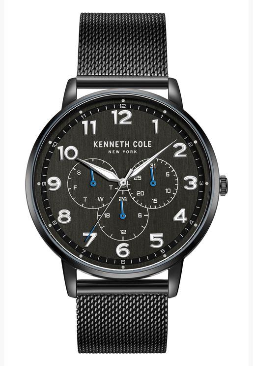 كينيث كول ساعة رسمية للرجال بسوار من الستانلس ستيل - KC50801001