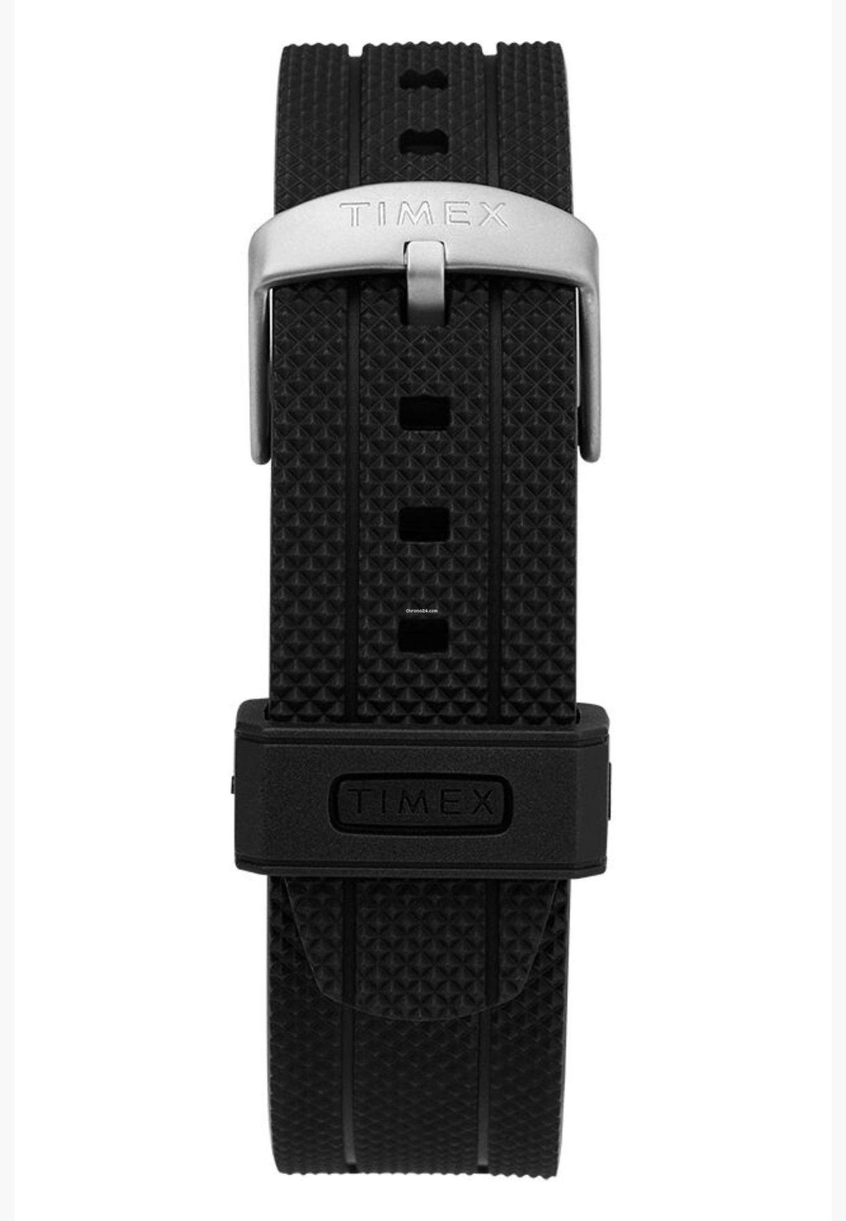 ساعة تيميكس ألايد كوستلاين بسوار سيليكون للرجال - TW2T30000