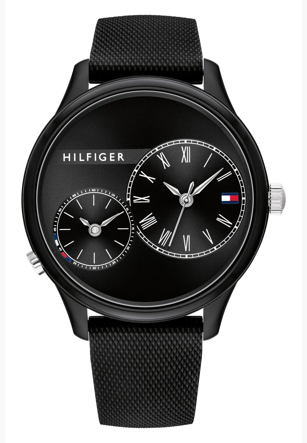 تومي هيلفيغر ساعة ميج بسوار سيليكون للنساء - 1782147