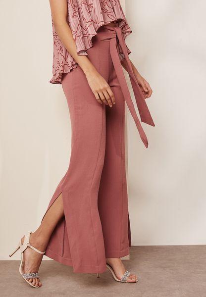 Side Split Pants