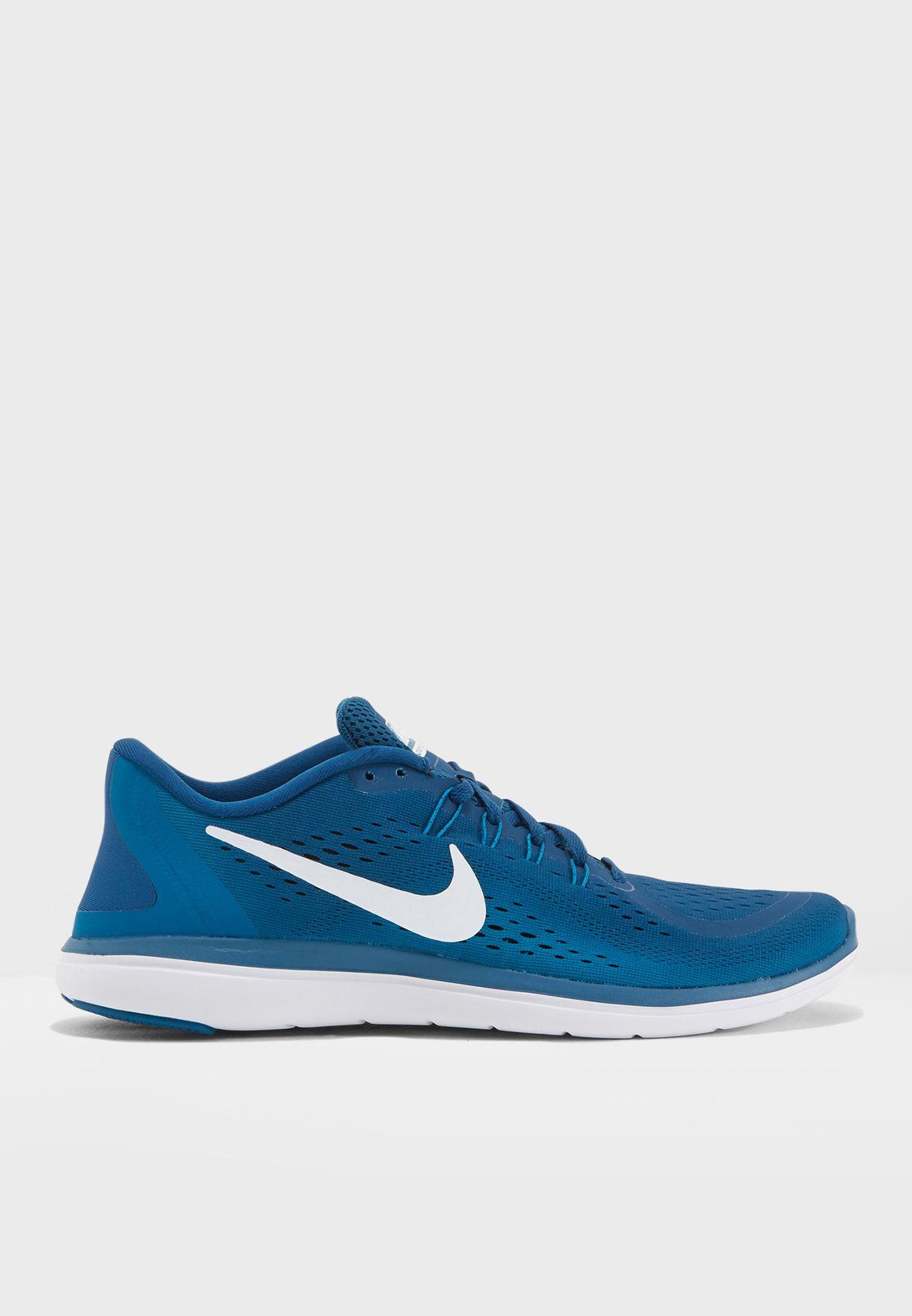 56fd9d45a451 Shop Nike blue Flex 2017 RN 898457-405 for Men in UAE - NI727SH68PSD