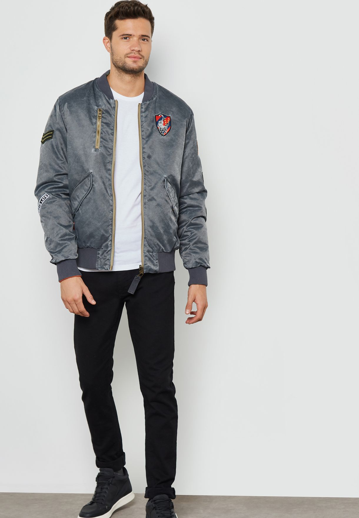 Time Bomber Jacket