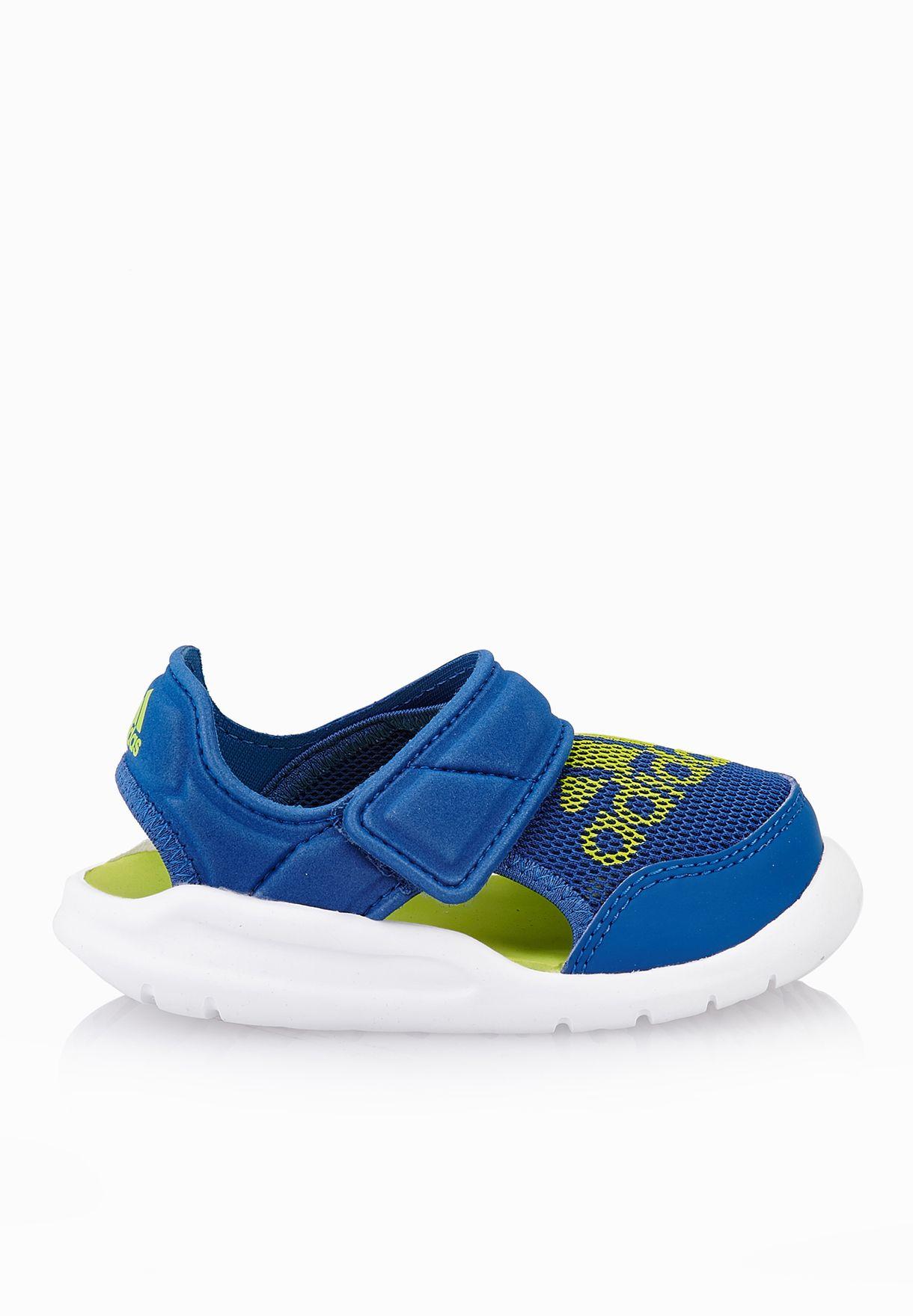 the latest c51ec 8ae44 Shop adidas blue Flexzee Infant AF3895 for Kids in Qatar - AD476SH68VMP