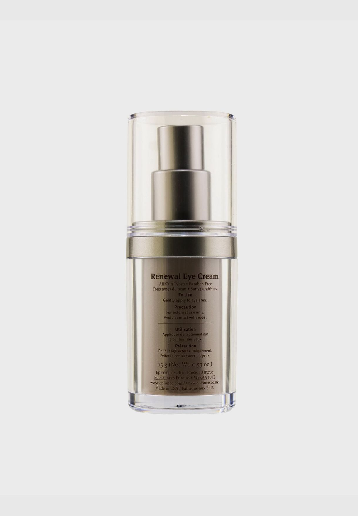 Renewal Eye Cream - For All Skin Types