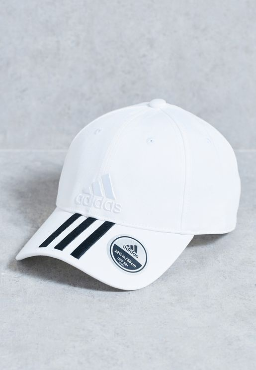 6 Panel 3 Stripe Cap