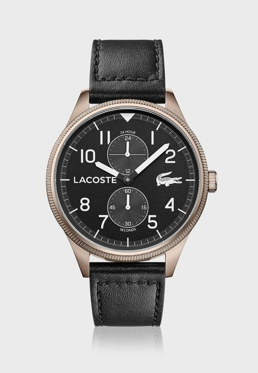 Lacoste LACOSTE CONTINENTAL Leather Strap Watch for Men - 2011042