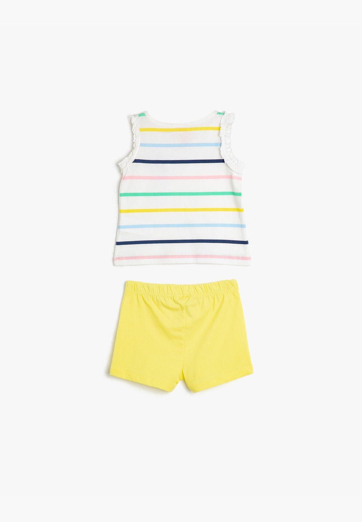 Striped T-Shirt Sets