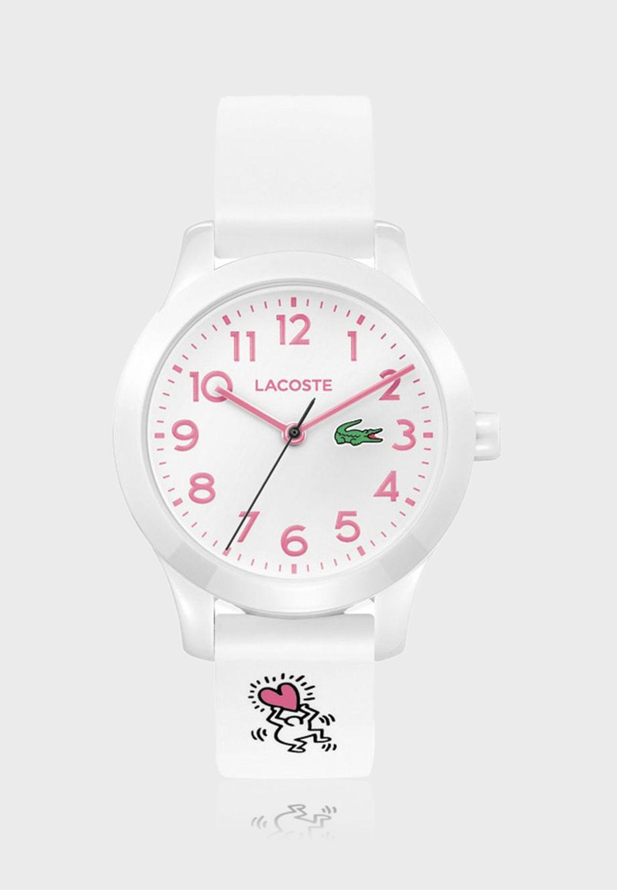 ساعة لاكوست L12.12 للأولاد بسوار سيليكون - 2030016