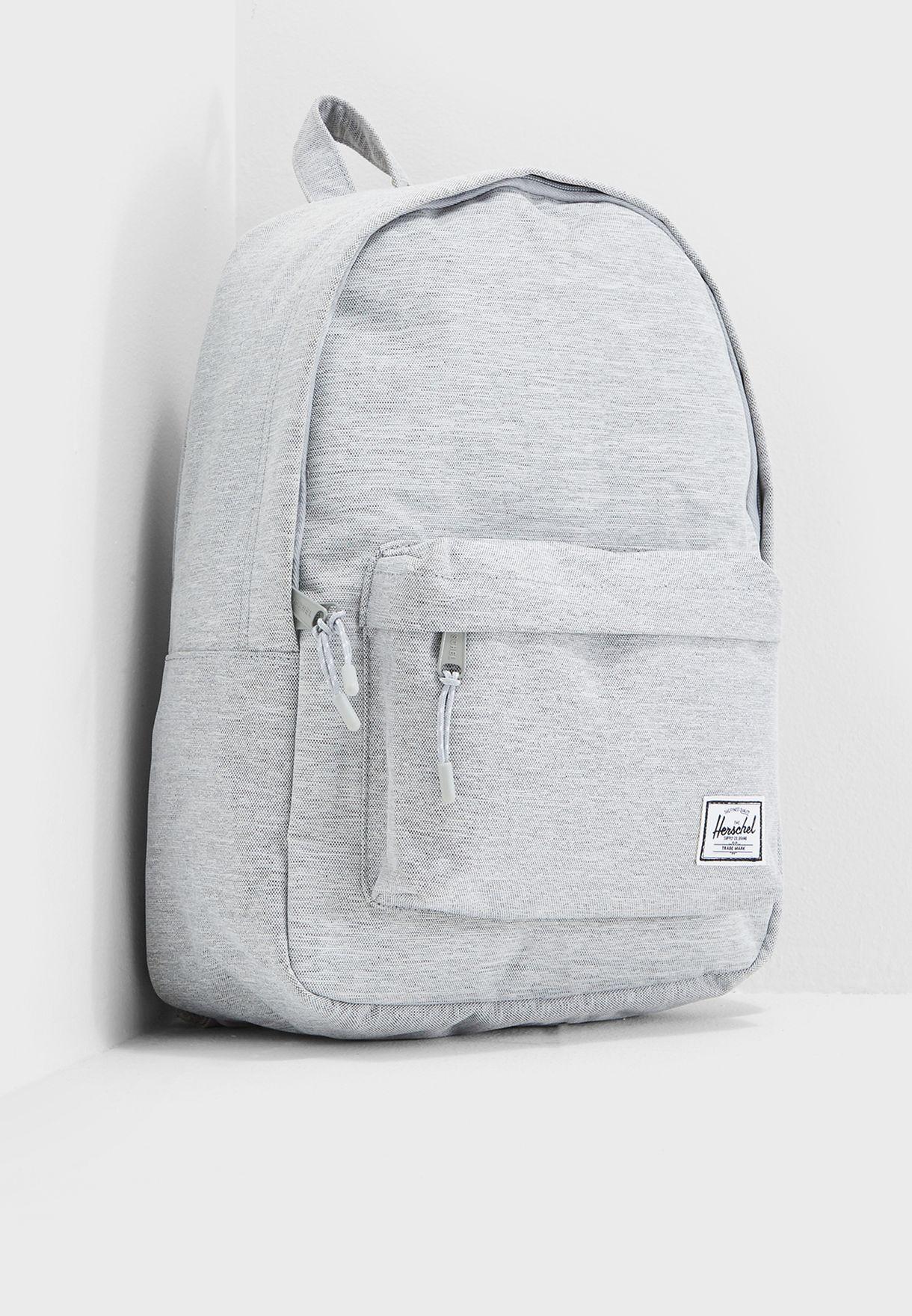 bd7c7fa7249 Shop Herschel grey Classic Backpack 18L 10485-01866-OS for Men in ...