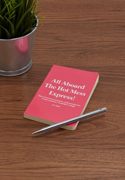 Mini Hot Mess Notebook