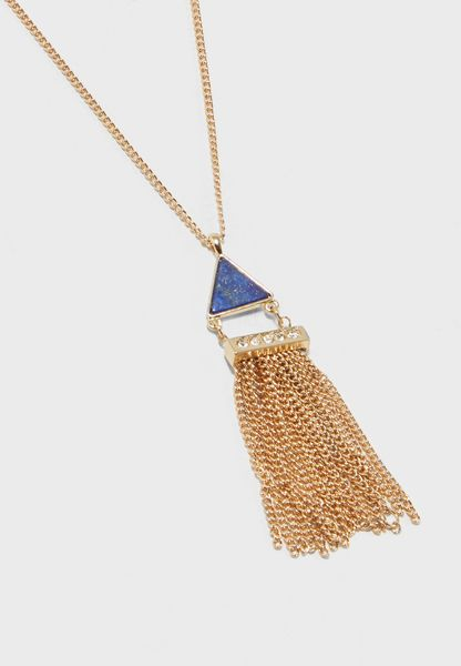 Tassel Drop Necklace