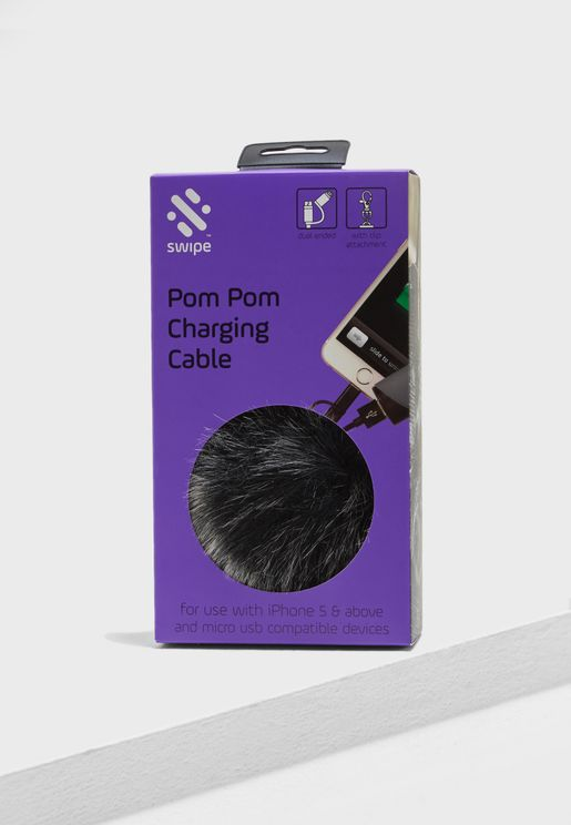Pom Pom Charging Cable