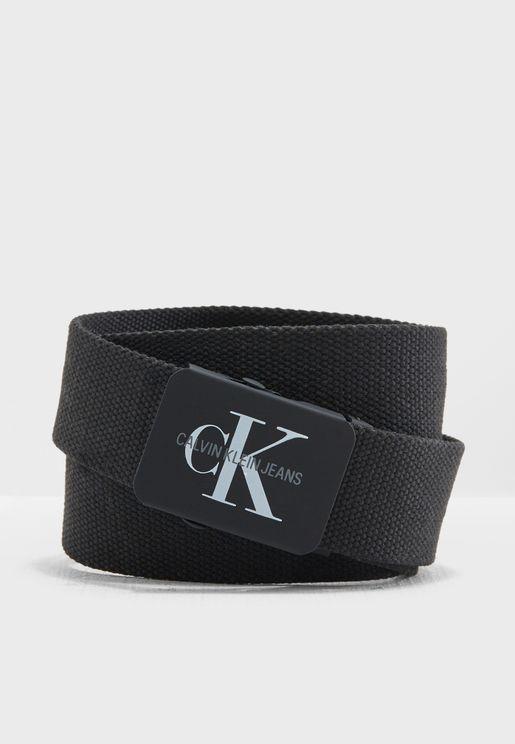 حزام عصري بشعار الماركة