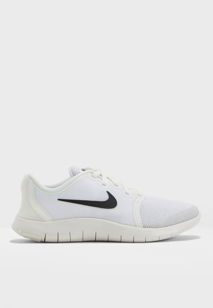 Shop Nike white Flex Contact 2 Youth AH3443-100 for Kids in UAE -  NI727SH68NNJ
