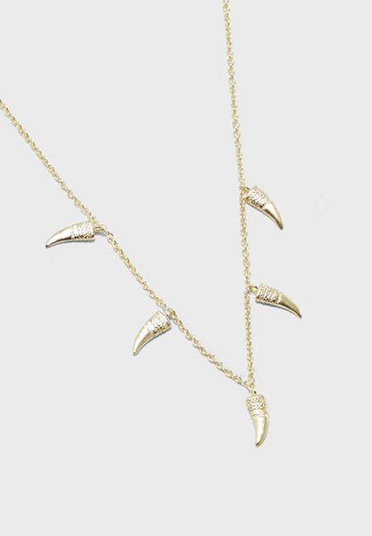 Mini Tusk Station Necklace