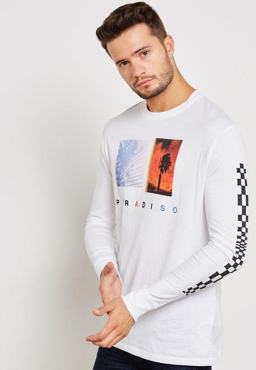 Paradise Crew Neck T-Shirt