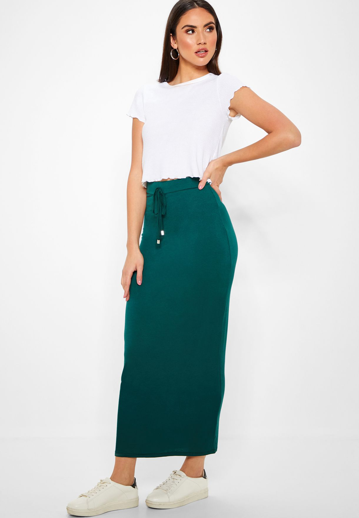 b811229dc034 Shop Dorothy Perkins green Essential Skirt 14781911 for Women in UAE ...