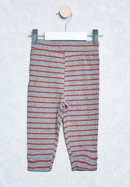 Infant Stripe Print Trousers