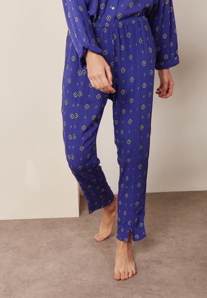 Front Slit Printed Pants