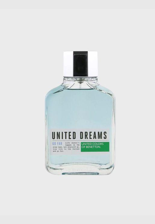 United Dreams Go Far ماء تواليت سبراي