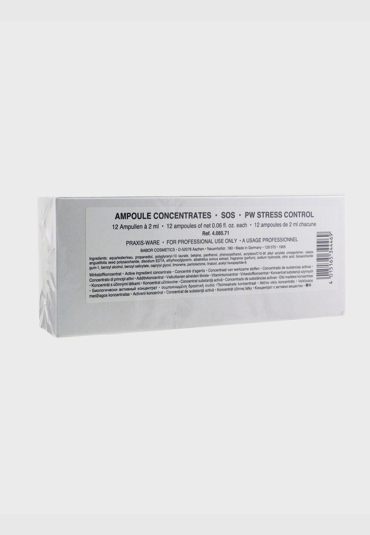 محلول أمبولات لضبط التوتر (حجم صالون)