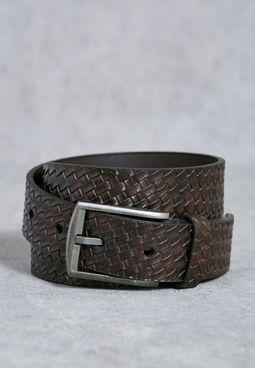 Embossed Weave Belt
