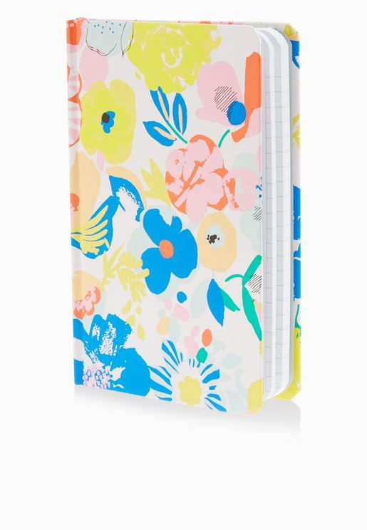 Mega Blooms Spiral Notebook